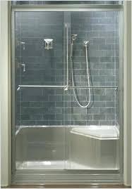 kohler shower doors frameless shower doors sliding tub shower