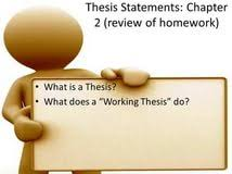my thesis statement make my thesis statement