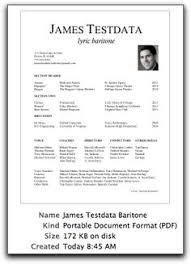 Dance Resume Template Best Business Template ESL Energiespeicherl sungen
