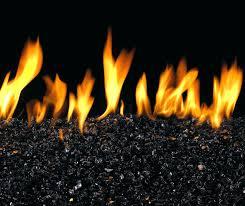 fireplace glass rocks diy home depot
