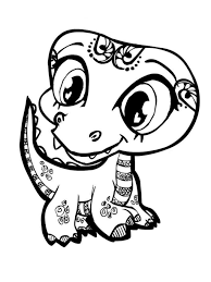 Animal Coloring Pages For Kids With Book Also Activity Image