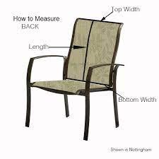 chair swivel 2 piece sling carter
