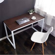 home office writing desks. WV LeisureMaster Computer PC Table Home Office Writing Desk With Sled Base, Beech/White Desks