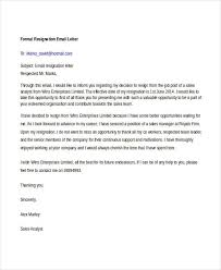 14+ Formal Resignation Letters - Free Sample, Example Format ...