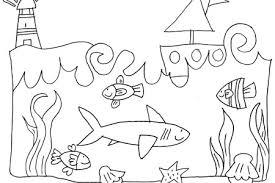 Stampaecoloraweb Disegno Di Pesce Da Colorare