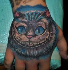 все фотографии по чеширский кот тату эскиз Badumkaru