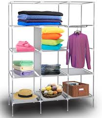 Portable Storage Closet With Shelving