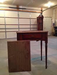 repurposed antique furniture. Upcycled Antique Sewing Machine Table Repurposed Furniture E