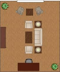 rectangular room furniture arrangement. living room arrangement divided rectangular furniture a