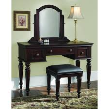 home styles lafayette 3 piece cherry vanity set 5537 72 the depot