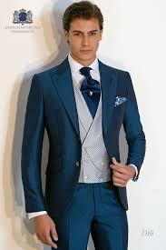 Wedding Court Design Bespoke Blue Suit Mohair Wool Mix Alpaca Ottavio Nuccio 2368