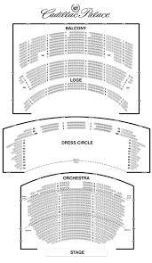 cadillac palace theatre seating chart