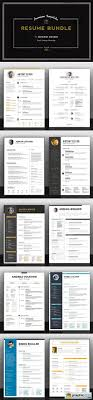 premium resume bundle vector stock image premium resume bundle 371242