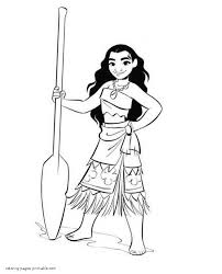 Moana Coloring Pages Gif Free Princessheets To Print Disney For Kids