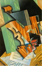violin and glass painting juan gris violin and glass art painting