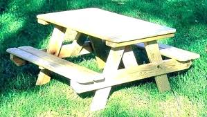 childrens wooden picnic table kids picnic bench wood kit table image of good wooden plans be