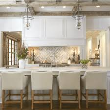 Wood ceiling kitchen Plank Ceiling Wood Ceiling Treatments Beams Kitchen Lindsay Hill Interiors Trending Wood Ceiling Treatments Beams Planking