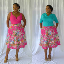 Pattern Review Best Vogue Patterns 48 Misses' Crop Top and Flared Yoke Skirt