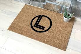 personalized entry door mats front door design personalized exterior door mats monogrammed doormat indoor outdoor mats large doormats
