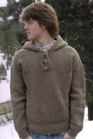 Mens Sweater Knitting Pattern Beauteous Knitting Pure And Simple Men's Sweater Patterns 48 Neckdown