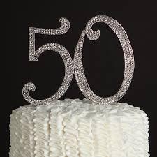 Ella Celebration 50 Cake Topper 50th Birthday Anniversary Party