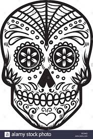 Day Of The Dead Skull Designs Illustration Of Mexican Sugar Skull Day Of The Dead Dia De