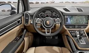 porsche cayenne turbo 2018. fine 2018 the cayenne is porscheu0027s no 2 seller after the smaller macan crossover  porsche cars north america ceo klaus zellmer said late last year that company  inside porsche cayenne turbo 2018