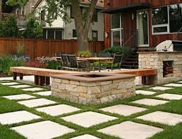 patio pavers with grass in between. I Have A Thing For Square Pavers Set Into Grass. Can\u0027t Explain It, Just Love. Patio With Grass In Between G