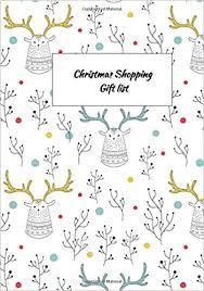 Gift Tracker Buy Christmas Shopping Gift List Gift Tracker Holiday Shopping List