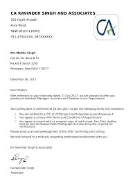 15 Format Offer Letter Leterformat