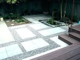 modern concrete patio. Modern Concrete Patio House Landscape Gallery Project La Slab