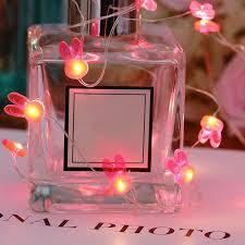 girls room led light decorations pink