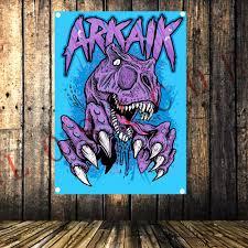 Тяжелый металлический ленточный рок музыкальный плакат ...
