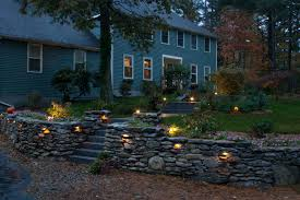 exellent outdoor artistic landscapes blog retaining wall built with natural regarding lights for house in outdoor lighting c