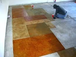 concrete floor paint paint my