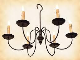 iron chandelier primitive wrought iron chandelier