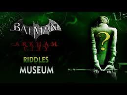 batman arkham city riddler trophies in the gladiator pit (museum) Batman Arkham City Fuse Box Museum batman arkham city riddles museum batman arkham city overload fuse box museum