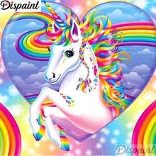 Buy <b>diamond painting</b> round <b>unicorn</b> and get free shipping on ...