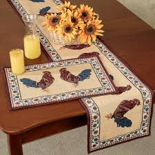 Rooster Rugs For Kitchen Rooster Kitchen Collection Touch Of Class