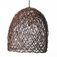 egg branch chandelier