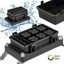 fuse box automotive wiring diagram rows waterproof relay fuse block automotive marine boat accessory box fuse box automotive aftermarket fuse box automotive