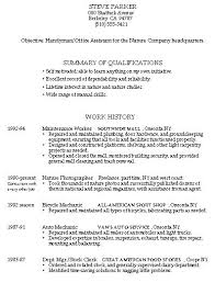 Handyman Resume Examples Examples Of Resumes