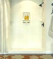 shower base installation walls wall kit instructions pan swanstone veritek reviews