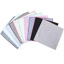 Tailor Smith Cotton <b>Pocket Square Men</b> Women <b>Handkerchief</b> Solid ...