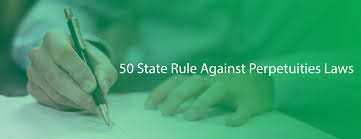 Summary Of 50 State Rule Against Perpetuities Laws Netlaw