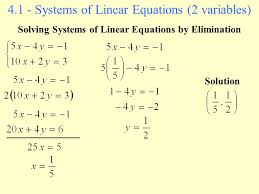 systems of linear equations solver jennarocca