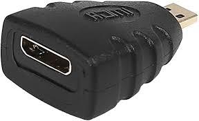 HDE Mini <b>HDMI Female to Micro</b> HDMI Male Adapter for ...