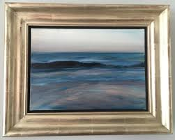 paul p canadian b 1977 oil on canvas untitled ocean scene 2010 dimensions 7 h x 10 w inches without frame 11 h x 14 w inches with frame framed