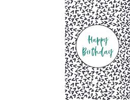 Choose cards with animals or balloons, flowers, or cards with cake. Free Printable Birthday Cards Paper Trail Design