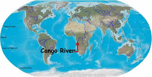 Image result for the Congo River map